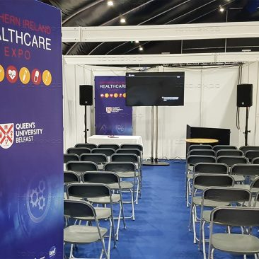 Seminar area at Northern Ireland Manufacturing Expo 2019