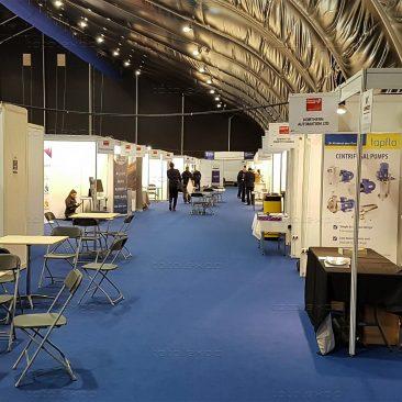 Shell sheme at Northern Ireland Manufacturing Expo 2019