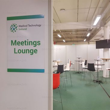 Signage at at Medical Technology 2019