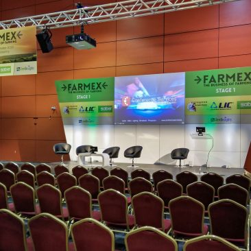 Stage 1 at Farmex 2018