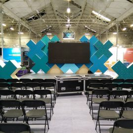 Stage at Dublin Tech Summit 2019