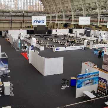 Stands at Airline MRO Olympia 2019