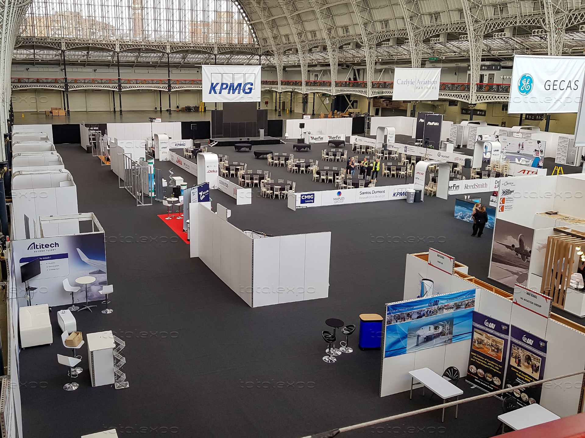 Trade Stands Olympia : Airline mro 2019 london total expo