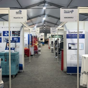 Stands at Manufacturing Expo 2020