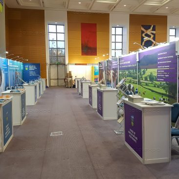 Stands at UCD Open Day 2019