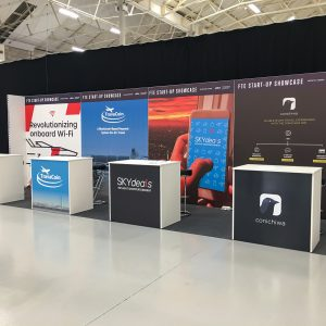 Startup stands at FTE 2018