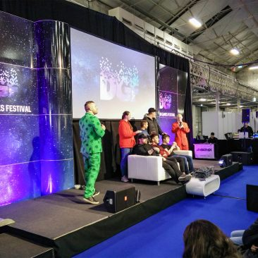 Streamers Stage at Dublin Games Festival 2018