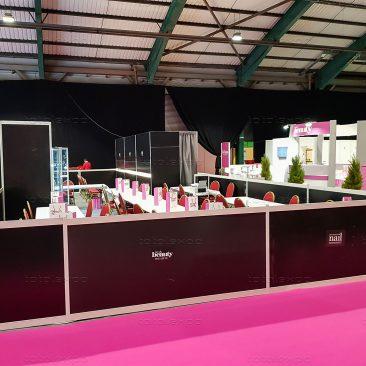 Tournament area (Nails) at Irish Beauty Show 2020