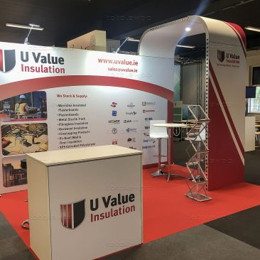 U Value Insulation at Selfbuild Dublin Citywest 2019