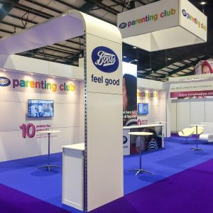 Boots at Pregnancy & Baby Fair 2017