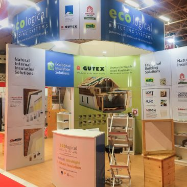 Ecological Building Systems at Energy Show 2017