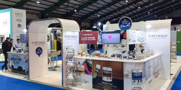 Fleetwood Paints at Hardware Show 2017