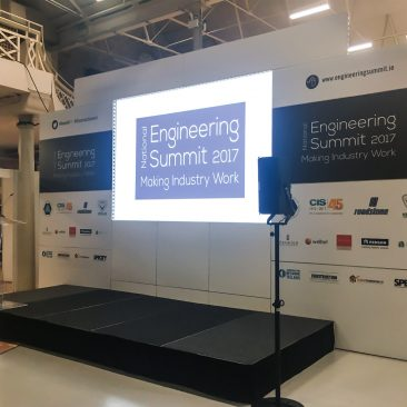 Stage branding at Engineering Summit 2017