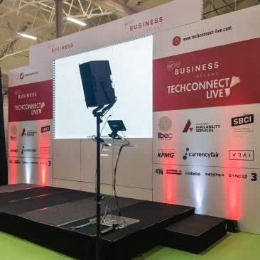 Virgin stage at Tech Connect 2017, RDS