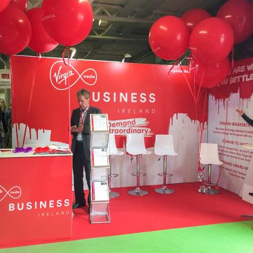 Virgin stand at Tech Connect 2017